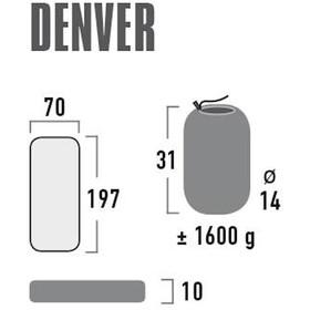High Peak Denver Esterilla aislante, amarillo